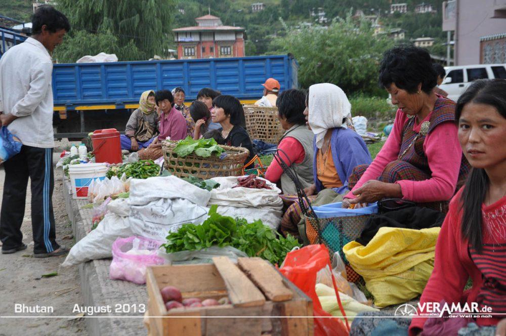 Bhutan Markt