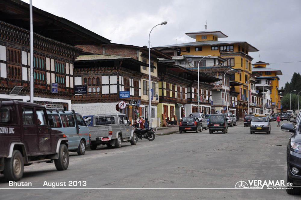 Bhutan Strasse