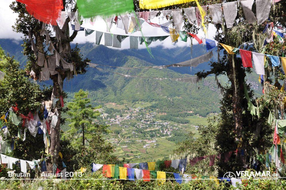 Bhutan Wanderung
