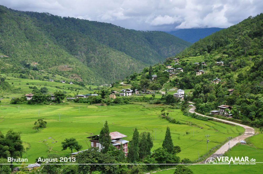Bhutan Landschaft