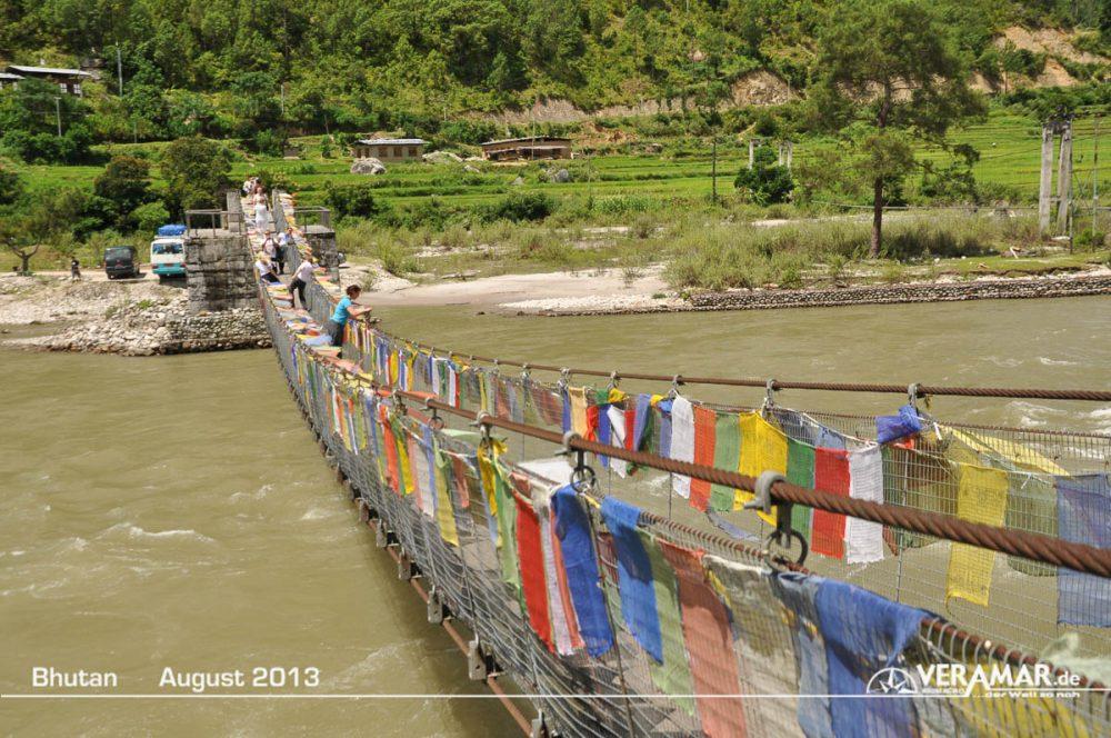 Bhutan Brücke