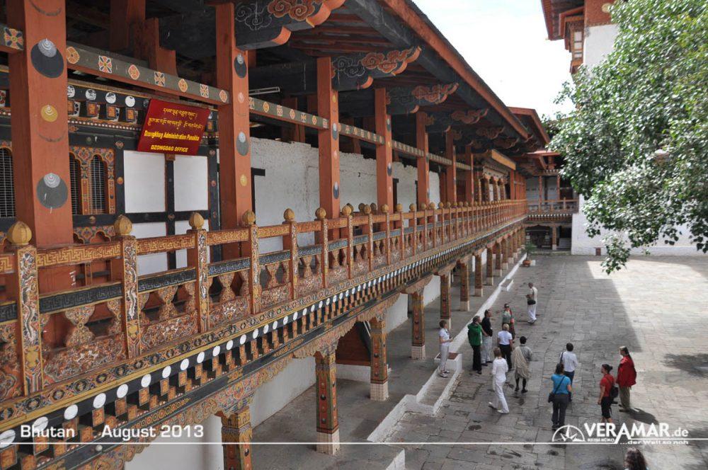 Bhutan Tempelanlage