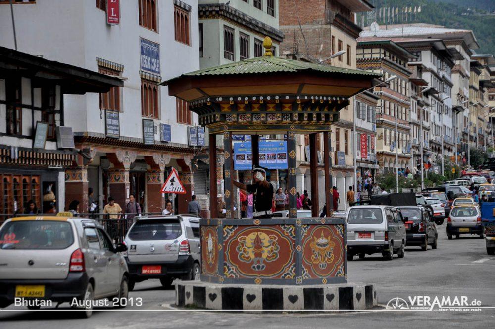 Verkehr Bhutan