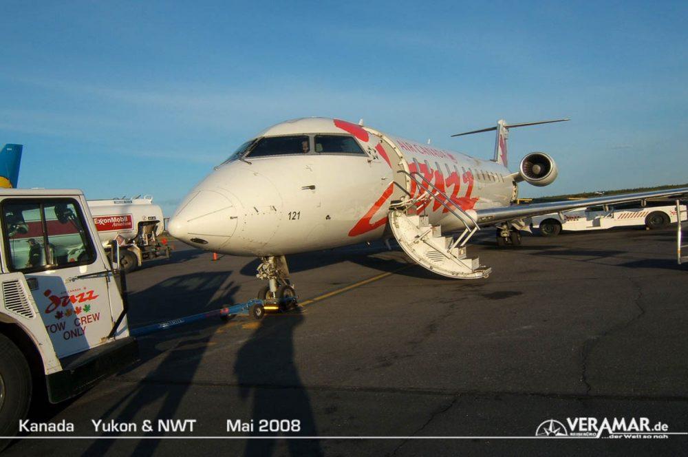 Abflug Air Canada