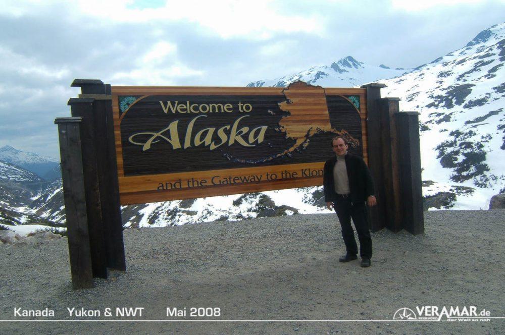 Ankunft Alaska