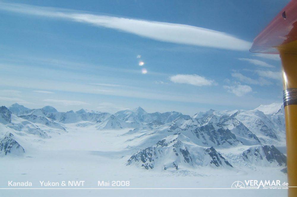 Rundflug Gletscher