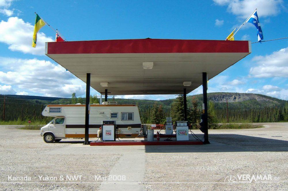 Yukon Tankstelle