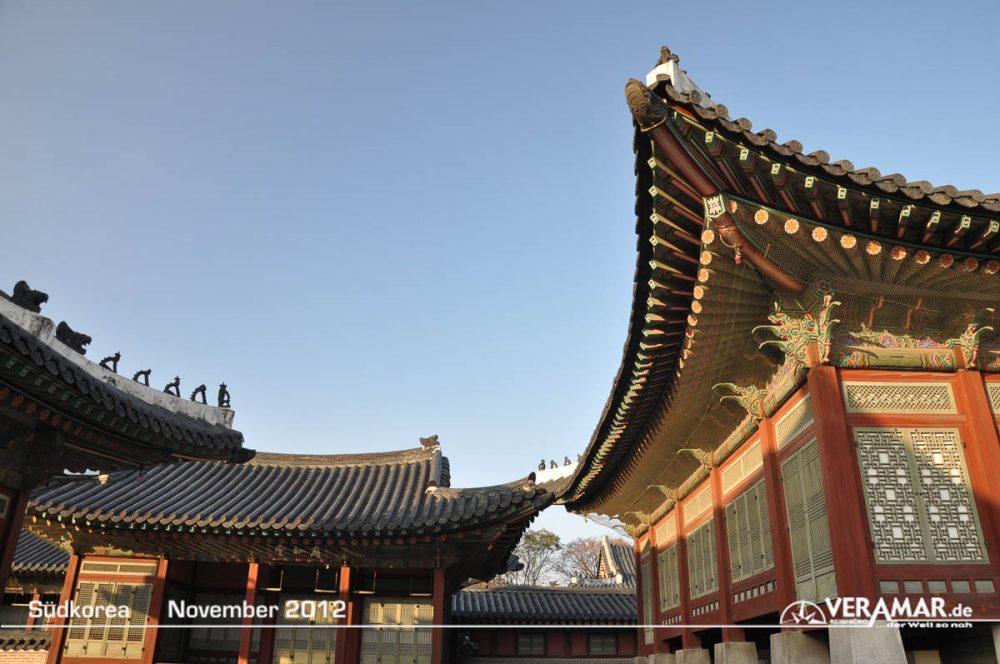 Tempeldächer Südkorea