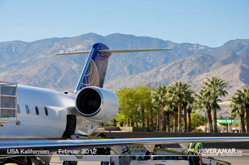 Palm Springs Abflug