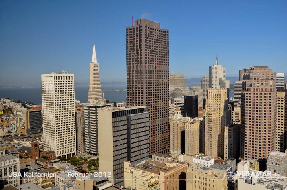 Hochhäuser San Francisco