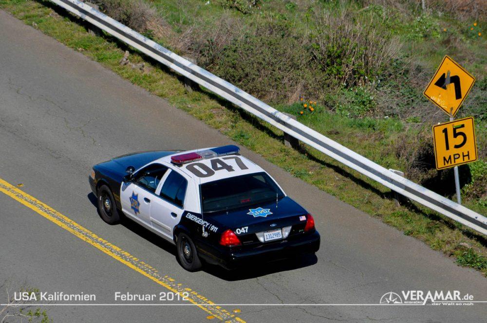 Polizeiauto SFO