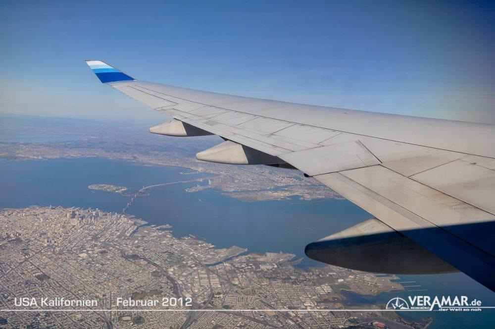 Anflug San Francisco